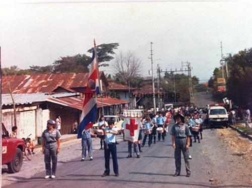 Desfile de la Cruz Roja